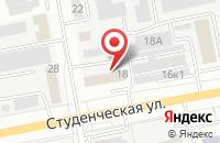 Схема проезда до компании Современные окна в Белгороде