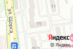 Схема проезда до компании Гранд Текстиль в Белгороде