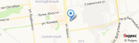 Пища орлов на карте Белгорода