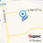 Альфа на карте Белгорода