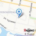 Авида на карте Белгорода