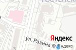 Схема проезда до компании Регионстрой в Белгороде