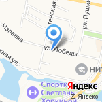 Родник на карте Белгорода