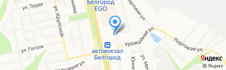 ГРАНДПРИ на карте Белгорода