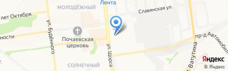 Строительно-монтажный трест №1 на карте Белгорода