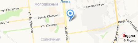 Русские гвозди на карте Белгорода