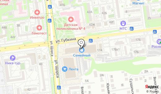 Дарислава. Схема проезда в Белгороде