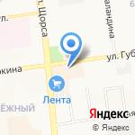 Шарми на карте Белгорода