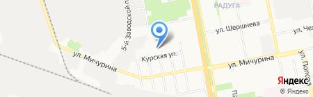 Арбен 31 на карте Белгорода
