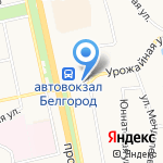 Дарья на карте Белгорода