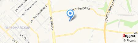 Эспадон на карте Белгорода