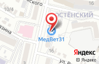 Схема проезда до компании Коптяева Дарья Павловна в Белгороде