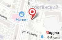 Схема проезда до компании Регионстрой31 в Белгороде