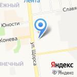Матрас и Ко на карте Белгорода