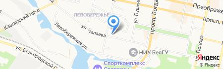 АККОНД на карте Белгорода