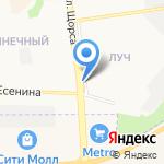 12 стульев на карте Белгорода