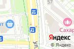 Схема проезда до компании 12 стульев в Белгороде
