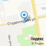 Информационно-маркетинговый центр Белгородской области на карте Белгорода