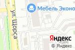 Схема проезда до компании Автоплюс 31 в Белгороде