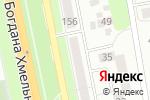 Схема проезда до компании Professional в Белгороде