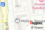 Схема проезда до компании Геокон-Вест в Белгороде
