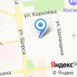 ДЮСШ №3 Белгородской области на карте Белгорода