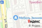 Схема проезда до компании Матисс в Белгороде