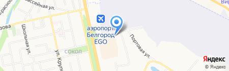 Рио на карте Белгорода