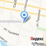 Диол на карте Белгорода