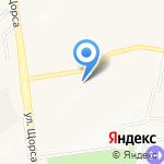 Мелиса на карте Белгорода