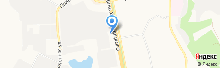 Сокол на карте Белгорода
