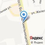 ЛТК на карте Белгорода