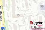 Схема проезда до компании Династия в Белгороде