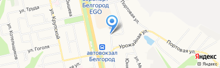Газ сервис на карте Белгорода