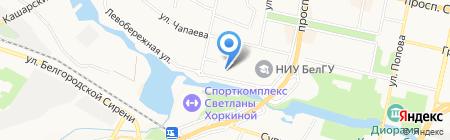 Арх идея на карте Белгорода