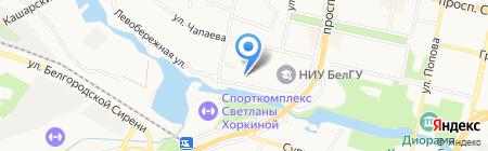 Мультипраздник на карте Белгорода