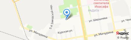 Детский сад №54 на карте Белгорода