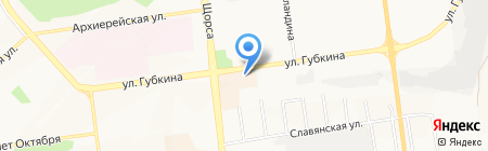 Мясной дворик на карте Белгорода