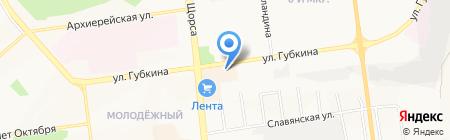 Валерия на карте Белгорода
