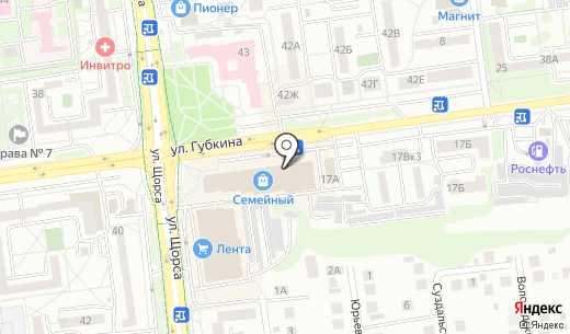 Мировая посуда. Схема проезда в Белгороде