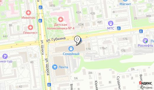 Лиза. Схема проезда в Белгороде