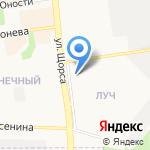 Бастет на карте Белгорода