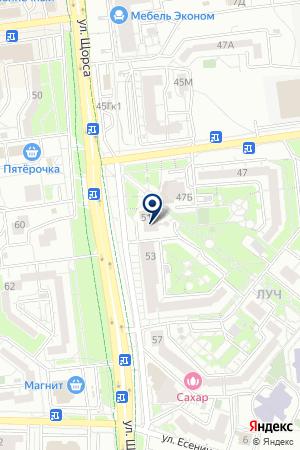 СЕВЕРНЫЙ ИНВЕСТИЦИОННЫЙ БАНК ЭКОНОМИЧЕСКОГО РАЗВИТИЯ на карте Белгорода