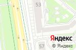 Схема проезда до компании Идиллия красоты в Белгороде