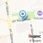 Доброхот на карте Белгорода