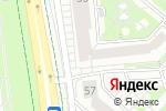 Схема проезда до компании Velluto rosso в Белгороде