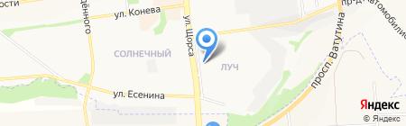 Кредо на карте Белгорода