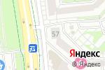 Схема проезда до компании Движок в Белгороде