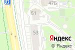 Схема проезда до компании Blond Studio в Белгороде