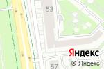 Схема проезда до компании Сети ИЖС в Белгороде